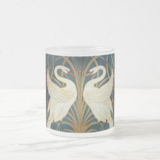 Walter Crane Swan, Stormloop en de Jugendstil van Matglas Koffiemok