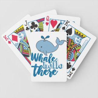 Walvis Hello daar Poker Kaarten
