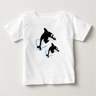 walvissen baby t shirts