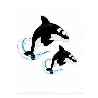 walvissen briefkaart