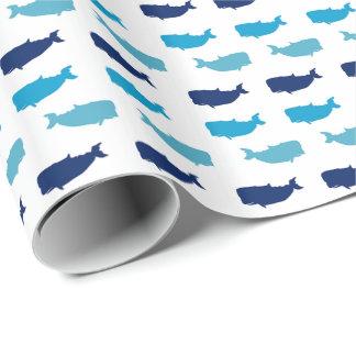 Walvissen Cadeaupapier