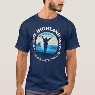 Wandeling (de Manier van het Hoogland van het T Shirt