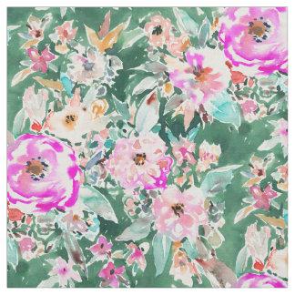 WANDERLUSH kleurrijke Bloemen Stof