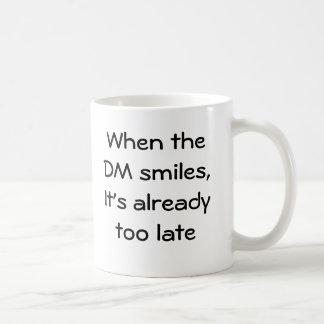 Wanneer DM glimlacht Basic Witte Mok