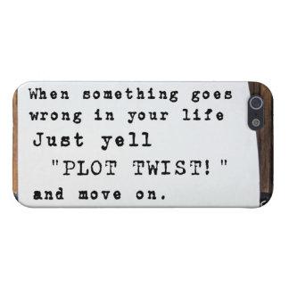 """Wanneer iets Verkeerd gaat, schreeuw enkel de """"DRA iPhone 5 Hoesje"""