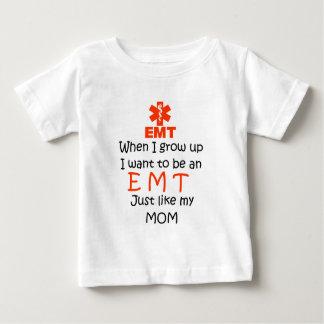 Wanneer ik EMT met grafisch groei Baby T Shirts