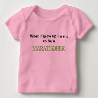 Wanneer ik groei baby t-shirt
