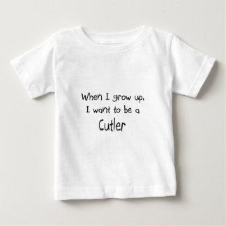 Wanneer ik groei wil ik een Messenmaker zijn Baby T Shirts