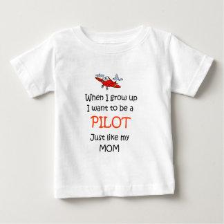 Wanneer ik Proef groei Baby T Shirts