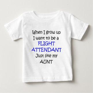 Wanneer ik slechts de tekst van de Steward groei Baby T Shirts
