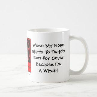 Wanneer mijn Neus begint te trillen… De brutale Koffiemok