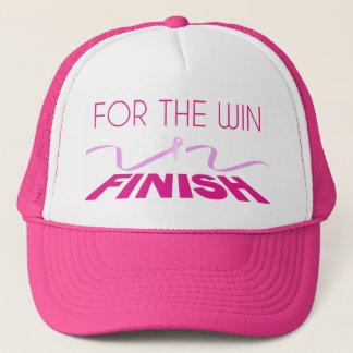 Want de Voorlichting van Kanker van de Borst win Trucker Pet