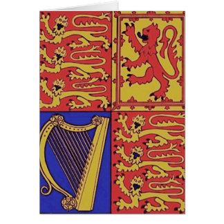 Wapenkunde met Harp en Leeuw Briefkaarten 0