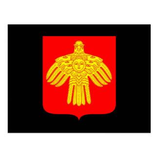 Wapenschild van de Komi-Republiek Briefkaart