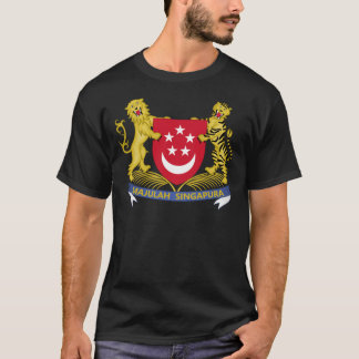 Wapenschild van het Embleem van Singapore 新加坡国徽 T Shirt