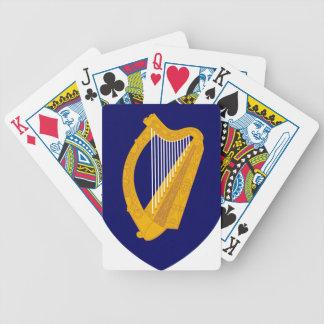 Wapenschild van Ierland - Iers Embleem Bicycle Speelkaarten