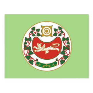 Wapenschild van Khakassia Briefkaart