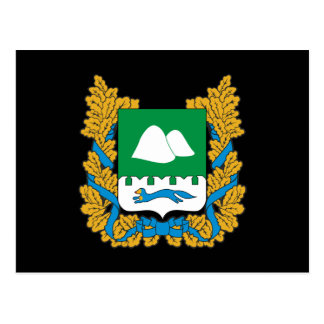 Wapenschild van Kurgan oblast Briefkaart