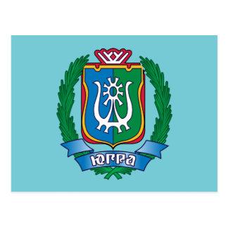 Wapenschild van Yugra Briefkaart
