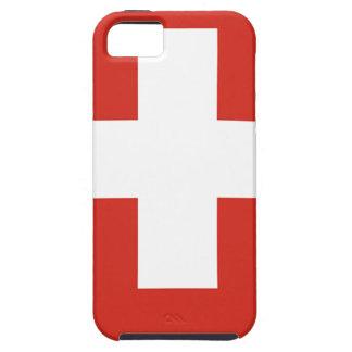 Wapenschild van Zwitserland - Wappen der Schweiz Tough iPhone 5 Hoesje