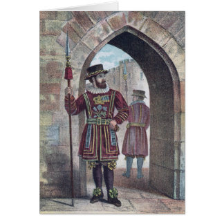 Warder van de kleine landeigenaar bij de Toren van Kaart