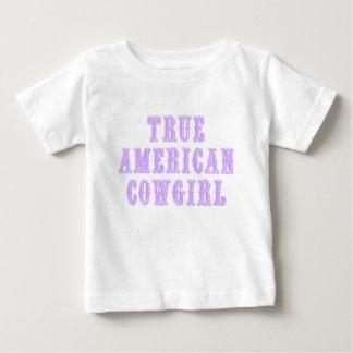 Ware Amerikaanse Veedrijfster Baby T Shirts