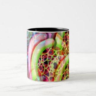 Ware Kleuren Tweekleurige Koffiemok