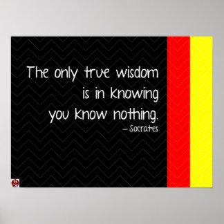 Ware Wijsheid Poster