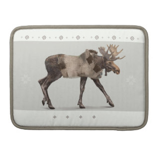'Warm Geklede Moose Sleeve Voor MacBooks