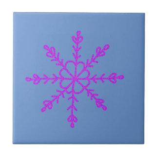 Warme en Mooie Christmassy Keramisch Tegeltje