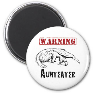 *Warning* Aunteater - Miereneter Ronde Magneet 5,7 Cm