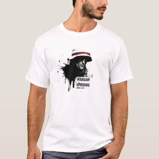 Warshau opstand t shirt