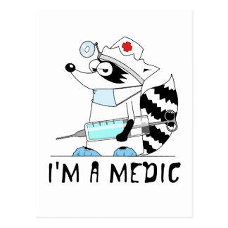 Wasbeer: Ik ben een dokter Briefkaart