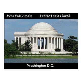 Washington D.C. - briefkaart