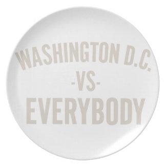 Washington DC versus iedereen Bord