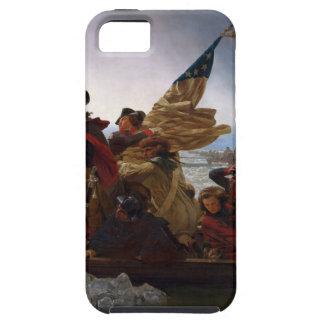 Washington die Delaware kruisen - het Vintage Art. Tough iPhone 5 Hoesje