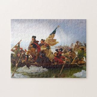 Washington die het Raadsel van Delaware kruisen Legpuzzel