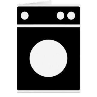 wasmachine pictogram briefkaarten 0