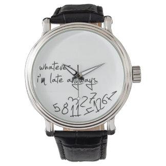 wat, ben ik recente anyways - moderne zwart & wit horloges