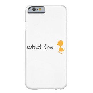 wat de eend barely there iPhone 6 hoesje
