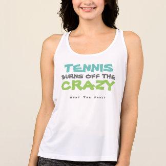 Wat de Fout: De Brandwonden van het tennis van de Tanktop