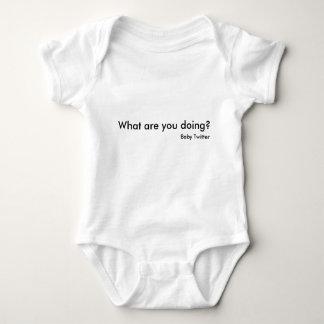 Wat doet u? , De Tjilpen van het Baby Romper