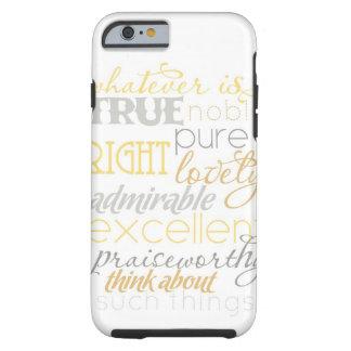 "wat er ook ware iPhone 6 ""neutraal "" geval is Tough iPhone 6 Hoesje"