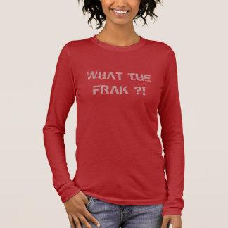WAT FRAK?! Het Overhemd van Vrouwen WTF T Shirts