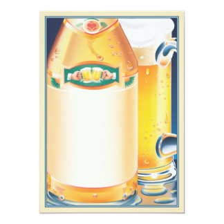Wat! Geen Bier? © 12,7x17,8 Uitnodiging Kaart