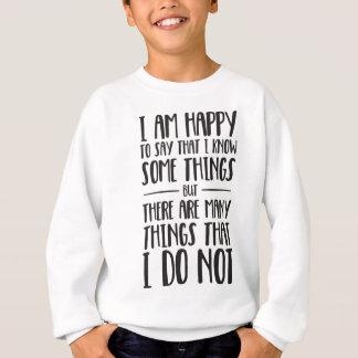 Wat ik - Inspirerend T-shirt weet