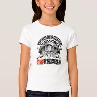 Wat in de Bakkerij gebeurt: Deegrollen T Shirts