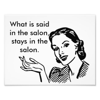 Wat in de salonverblijven in de salonpost wordt foto