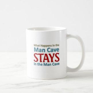 Wat in het Hol van het Man gebeurt Koffiemok