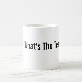 Wat is de Thee? Mok